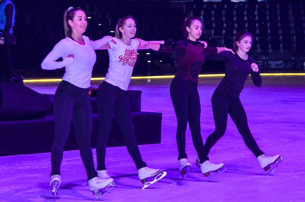Vor der Hauptprobe von Kids-on-Ice 2016