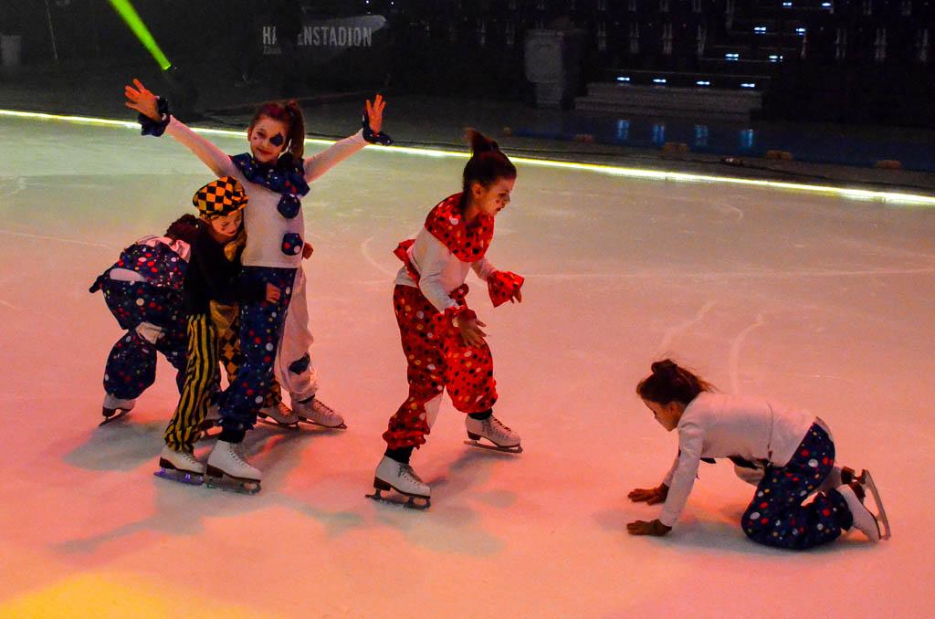 Hauptprobe von Kids-on-Ice 2016