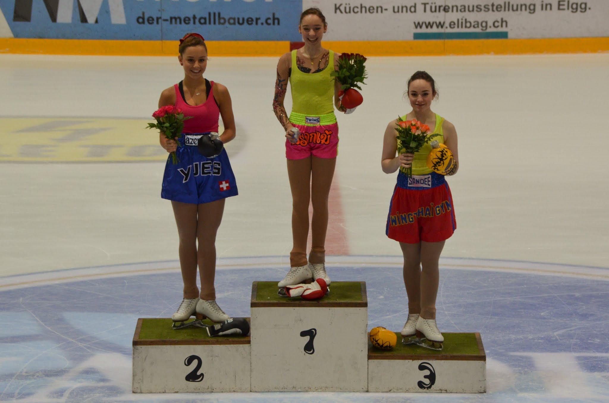 Siegerehrung SEV Junioren Damen Kür