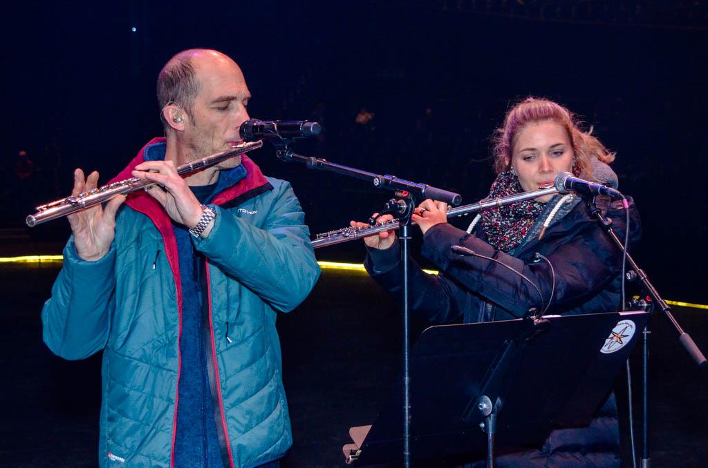 Andrew Bond und Catherine Reichelt-Burnand
