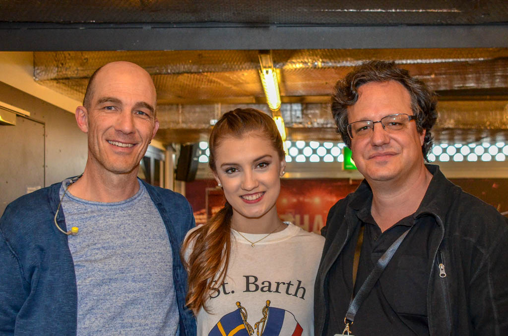 Andrew Bond, Alexia Paganini und Michael Hottinger