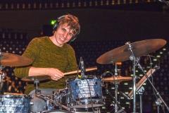 Daniel Borak als Schlagzeuger