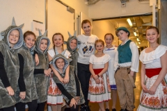 Viele Kader-Läufer(innen) mit Alexia Paganini