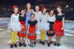 Mia Mikulec, Aaliyah Janser, Alexia Paganini, Alenka Brüngger, Noemi Zweifel, Estella Santacroce, Jessica Roth und Laia Meili (v.l.n.r.)