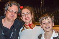 Michael, Flavia und Dario Hottinger